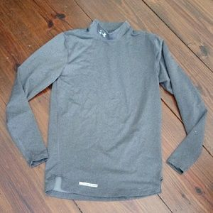 Under Armour Mens S Mock Cold Gear Shirt